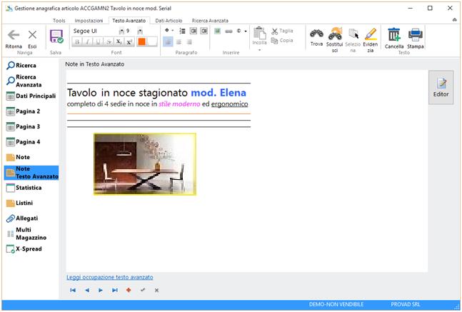 Magazzino programma gestionale Vicenza Padova Verona