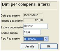 Gestione compensi a terzi Vicenza Verona Padova